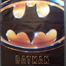 BATMAN  ORIGINAL Movie Poster TIM BURTON Jack Nicholson  MICHAEL KEATON 1989