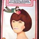 GLENDA JACKSON The ROMANTIC ENGLISHWOMAN Original POLISH Poster OFFBEAT ARTWORK!