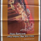 CLINT EASTWOOD Original ANY WHICH WAY YOU CAN 1-Sheet MOVIE Poster Warner Bros.