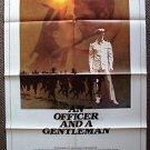 AN OFFICER AND A GENTLEMAN Original 1-SHEET Poster RICHARD GERE Debra Winger '82