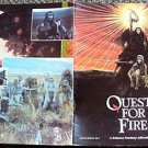 QUEST FOR FIRE Souvenir PROGRAM Photograph images by ERNST HAAS Darryl Hannah