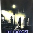 The EXORCIST Movie POSTER  William Peter Blatty  HORROR Original PROMOTIONAL