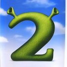 SHREK 2  Original ADVANCE Teaser Double Sided Movie POSTER 2004 DREAMWORKS