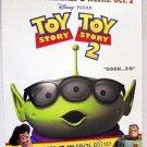 Toy Story 3-D  Promo Cardboard PIXAR  POSTER ALIEN  Cowboy Woody BUZZ LIGHTYEAR