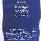 STAR WARS Advance TEASER Movie POSTER George Lucas 1977 Replica NEVER HUNG