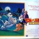 TOM and JERRY The Movie BRITISH QUAD Poster UK Animated ORIGINAL Cartoon BRITISH