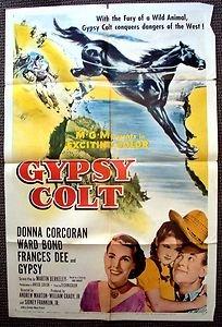 GYPSY COLT 1-Sheet Movie Poster WARD BOND Donna Corcoran FRANCES DEE Horse MGM