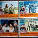 GREAT SCOUT and CATHOUSE THURSDAY Lobby Card SET Lee Marvin OLIVER REED Kay Lenz