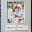 JESSICA TANDY Hume Cronyn Original SIGNED in Person AUTOGRAPH and PHOTO Oscars
