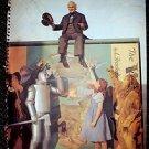 WIZARD OF OZ Tear Sheet POSTER JUDY GARLAND Ray Bolger JACK HALEY Frank Morgan