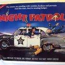 NIGHT PATROL Original POLICE Poster LINDA BLAIR Pat Paulsen comedy sex farce !!!