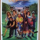 CADDYSHACK II Original MOVIE Poster CHEVY CHASE Dyan Cannon PHIL ROBERTS Art '88