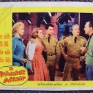 TERRY MOORE Signed in Person AUTOGRAPH Lobby Card A PRIVATE'S AFFAIR Sal Mineo