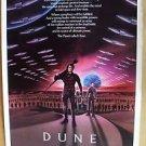 DUNE Rolled Movie POSTER Kyle MacLachlan DAVID LYNCH Dino De Laurentiis STING 84