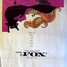 SANDY DENNIS The FOX Original INSERT Movie Poster LESBIAN Gay film ANNE HEYWOOD