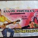 ELVIS PRESLEY Original KID GALAHAD Foreign BELGIUM Poster LOLA ALBRIGHT 1962