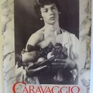 CARAVAGGIO Original ROLLED Movie POSTER Dexter Fletcher SHIRTLESS Gay Theme 1986