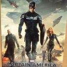 CAPTAIN AMERICA Poster CHRIS EVANS Winter Soldier SCARLETT JOHANSSON Original 14