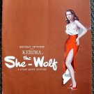 KERIMA The SHE-WOLF Pressbook MAY BRITT Republic Pictures ORIGINAL La Lupa 1953
