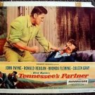 Ronald Reagan TENNESSEE'S PARTNER John Payne LOBBY CARD Western Brawl SUPERSCOPE
