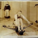MONTE BLUE Original Exercise 1930's PHOTO Everlast Boxing Shorts Rowing Work-out