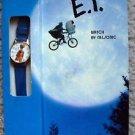 E.T. Extra Terrestrial Wind-up WATCH Nelsonic DREW STRUZAN Art  MIP SPIELBERG