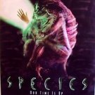 SPECIES Original Double Side MOVIE POSTER Natasha Henstridge SCI-FI Alien HORROR