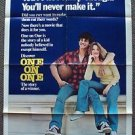 ONE ON ONE 1-Sheet Original Movie POSTER ROBBY BENSON Annette O'Toole BASKETBALL
