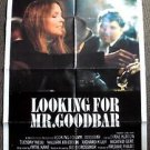 Diane Keaton LOOKING FOR MR. GOODBAR Original 1-Sheet Movie POSTER Richard Gere