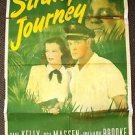 STRANGE JOURNEY 1-Sheet Movie Poster PAUL KELLY Hillary Brooke OSA MASSEN 1946