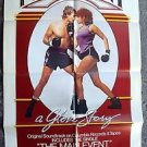 BARBRA STREISAND Music PROMOTIONAL Poster MAIN EVENT Poster Ryan O'Neal Boxing