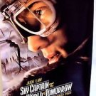 SKY CAPTAIN AND THE WORLD OF TOMORROW Original JUDE LAW Movie POSTER Serial 2004