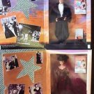 Barbie GONE WITH THE WIND DOLL Clark Gable VIVIEN LEIGH Hollywood Friends Dolls