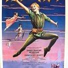 PETER PAN Broadway POSTER Pantages Theatre SANDY DUNCAN All ORIGINAL Stage Item