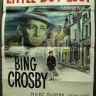 LITTLE BOY LOST Original BING CROSBY  1-Sheet Movie Poster Christian Fourcade