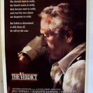 PAUL NEWMAN The VERDICT Original DRIVE-IN Style Movie POSTER Promotional Court