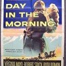 GREAT DAY IN THE MORNING Original 1-Sheet RKO  Poster ROBERT STACK Virginia Mayo