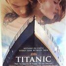 "TITANIC Original 1-Sheet ROLLED Movie POSTER  KATE WINSLET Leonardo DiCaprio ""A"""