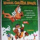 JAN MICHAEL VINCENT The WORLD'S GREATEST ATHLETE 1-Sheet POSTER Walt Disney 1972