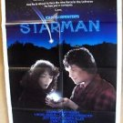 STARMAN Original JEFF BRIDGES Karen Allen 1-Sheet Movie POSTER John Carpenter 84