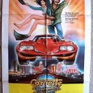 CORVETTE SUMMER Original 1-Sheet Movie POSTER Mark Hamill ANNIE POTTS Vette 1978