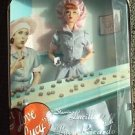 I LOVE LUCY Mattel BARBIE Doll LUCILLE BALL Job Switching #39 Chocolate Factory