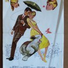 HAYLEY MILLS Original SUMMER MAGIC Walt Disney INSERT Movie POSTER Burl Ives '63