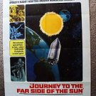 Doppelgänger JOURNEY TO FAR SIDE OF THE SUN Poster ROY THINNES Gerry Anderson 69