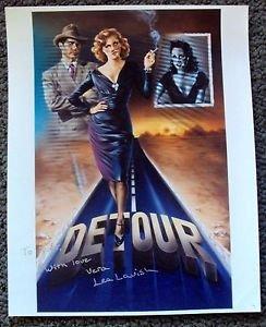 LEA LAVISH Original SIGNED IN PERSON Autograph PHOTO Detour FILM-NOIR Photograph