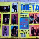 POISON Motley Crue DEF LEPPARD Whitesnake KISS FASTER PUSSYCAT POSTER Book