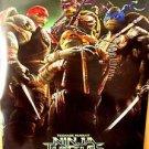 TEENAGE MUTANT NINJA TURTLES Original Rolled Movie POSTER Leonardo DONATELLO '14