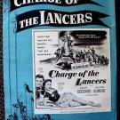 CHARGE OF THE LANCERS Western PRESSBOOK PAULETTE GODDARD William Castle 1953