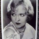 PHYLLIS HAVER original MAX FACTOR Studios HOLLYWOOD Facsimile Autograph PHOTO