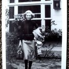 DOROTHY McGUIRE Original SIGNED in Person AUTOGRAPH PHOTO Swiss Family Robinson